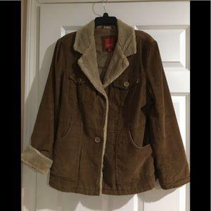 Ladies Esprit corduroy barn jacket